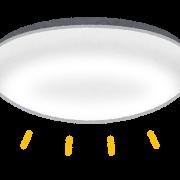 LED照明が発光しているイラスト